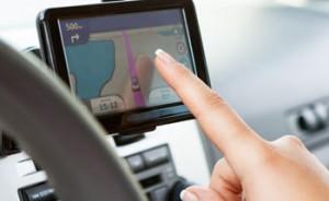 Het gps tracking systeem voor de auto
